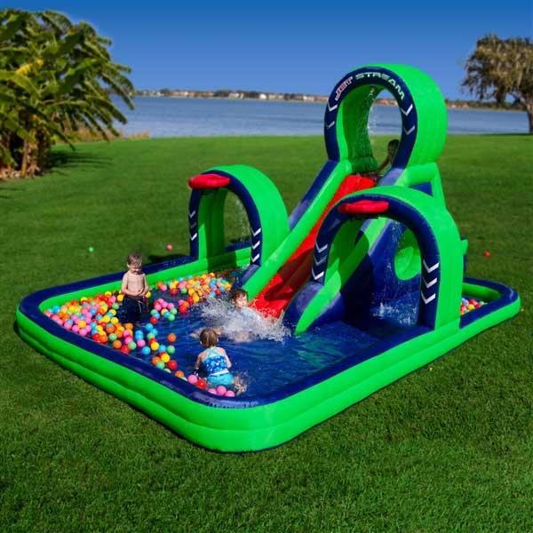 waterpark, bounce house for kids