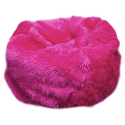 pink bean bag, bean bag for girls