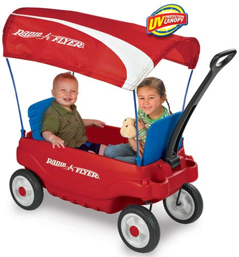 radio flyer Family Wagon Playground Safety Tips For Kids
