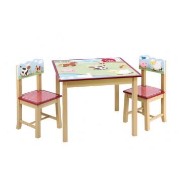 Guidecraft Farm Friends Table & Chair Set - Farm-Friends-Table-Chair-Set-360x365.jpg
