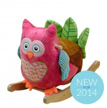 Owlivia Owl Musical Rocker by Rockabye