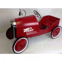 Red Jalopy Fire Truck Pedal Car