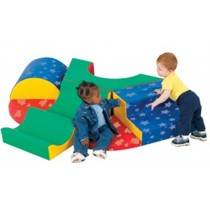Snuggle Warren Soft Play Climber by Childrens Factory