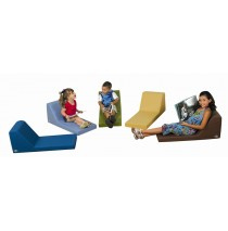 Cozy Woodland Lounger - Set of 5