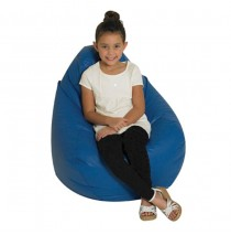 Tear Drop Bean Bag - Blue