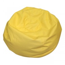Round Bean Bags - Yellow