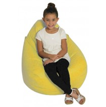 Tear Drop Bean Bag - Yellow
