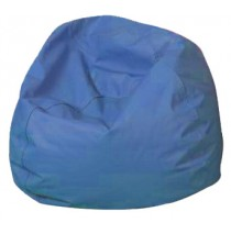 Round Bean Bags - Deep Water Blue