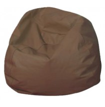 Round Bean Bags - Walnut