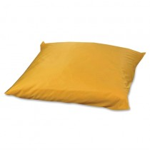 Square Floor Pillow - Yellow