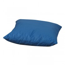 Cozy Woodland Deep Water Blue Floor Pillow