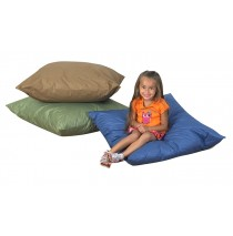 "27"" Cozy Woodland Floor Pillows 3 Piece Set"