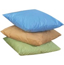 "27"" Cozy Woodland Floor Pillows 3 Piece Set In Light Tones"