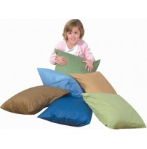 "17"" Cozy Woodland Floor Pillows 6 Piece Set"