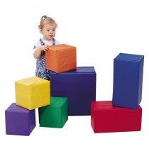 Sturdiblock Set 7 Piece Cube Set by Children's Factory