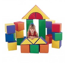 Children's Factory 23 piece Soft Block Set