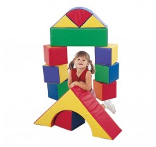 "9"" Block Set of 12 by Children's Factory"