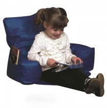 Sit-N-Read Blue Bean Bag