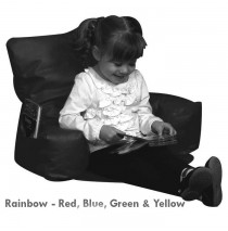 Sit-N-Read Rainbow Bean Bag