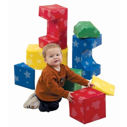 pattern blocks set of 8 by childrens factory - Childrens Factory