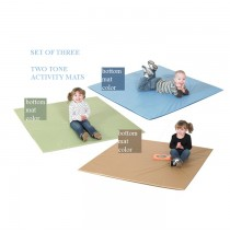 Cozy Woodland Two Tone Activity Mat - Set of Three