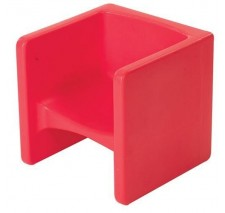 Children's Red Chair Cube - CF910-008