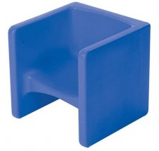 Children's Blue Chair Cube  - CF910-009