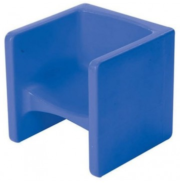 Children's Blue Chair Cube  - CF910-009 - CF910-009-cube-chair-blue-360x365.jpg