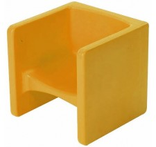 Children's Yellow Chair Cube - CF910-010