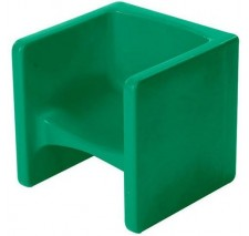 Children's Green Chair Cube - CF910-011