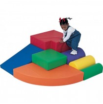 Hannah's Hideaway Soft Play Climber by Childrens Factory