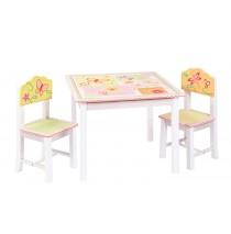 Guidecraft Gleeful Bugs Table & Chairs Set G88102