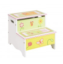 Guidecraft Gleeful Bugs Storage Step Up G88106