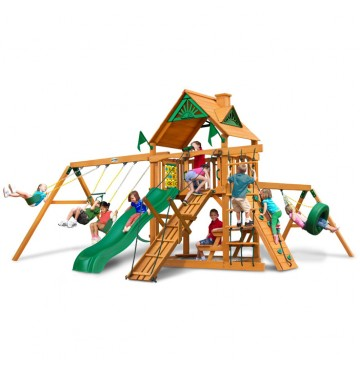 Frontier Swing Set With Wood Roof & Amber Posts - 01-0004-AP-360x365.jpg