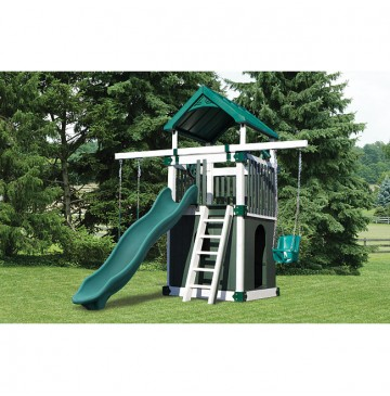 KC1 Clubhouse Vinyl Playset - 4 Color Options - kc1-clubhouse-swing-set-wg-360x365.jpg