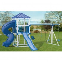 Swing Kingdom KC 10 Swing Set Economy Turbo - 4 Color Options