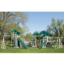 KRC Extreme Vinyl Playground by Swing Kingdom - 4 Color Options