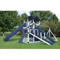 Swing Kingdom RL-10 Cliff Lookout Vinyl Playset - 4 Color Options