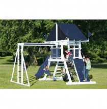 Swing Kingdom SK10 Vinyl Mountain Climber Swing Set - 4 Color Options
