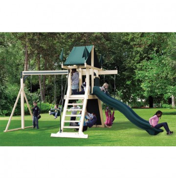 Swing Kingdom SK3 Vinyl Mountain Climber Swing Set - 4 Color Options - sk3-vinyl-swing-set-ag-360x365.jpg