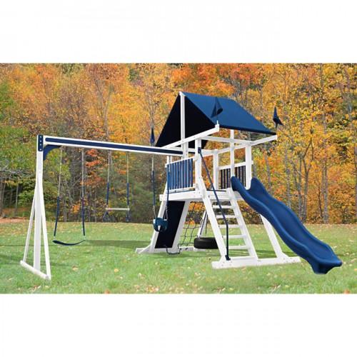 Swing Kingdom Sk 4 Mountain Climber Vinyl Swing Set Maintenance Free