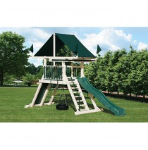 Swing Kingdom SK5 Mountain Climber Vinyl Swing Set - 4 Color Options
