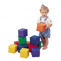 Toddler Baby Blocks Set of 12 Childrens Factory