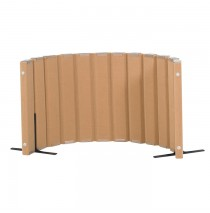 Quiet Divider® with Sound Sponge® 30″ x 6′ Wall – Natural Tan