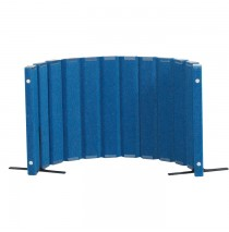 Quiet Divider® with Sound Sponge® 30″ x 6′ Wall – Blueberry