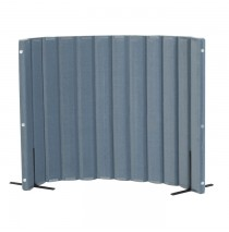 Quiet Divider® with Sound Sponge® 48″ x 6′ Wall - Slate Blue