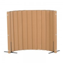 Quiet Divider® with Sound Sponge® 48″ x 6′ Wall – Natural Tan