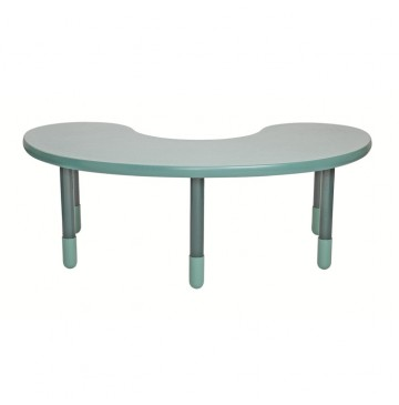 Angeles BaseLine Teacher / Kidney Table – Teal Green  with 18″ Legs & FREE SHIPPING - angels-kidney-table-teal-gr-360x365.jpg