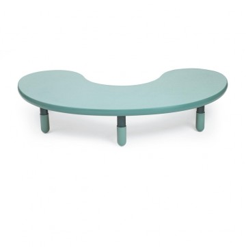 Angeles BaseLine Teacher / Kidney Table – Teal Green  with 12″ Legs & FREE SHIPPING - kidney-table-teal-green-360x365.jpg