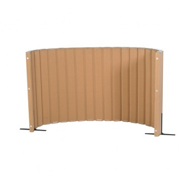 Angeles Quiet Divider® with Sound Sponge® 48″ x 10′ Wall – Natural Tan - quiet-divider-natural-tan-360x365.jpg
